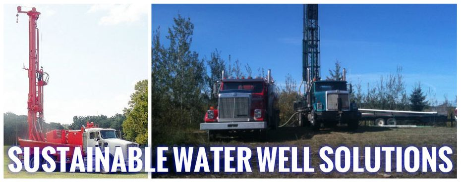 Sustainable water well solutions | trucks and drilling equipment